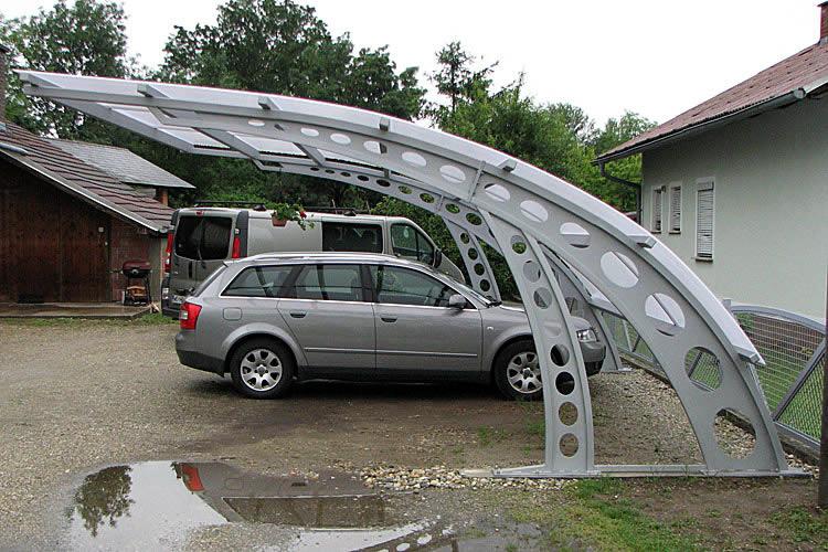 Überdachter Stellplatz - Carport Roof